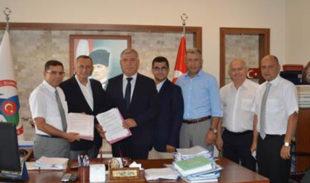 """Bursa'da OSB TIR Parkı'nda """"mobil Gümrükleme"""""""
